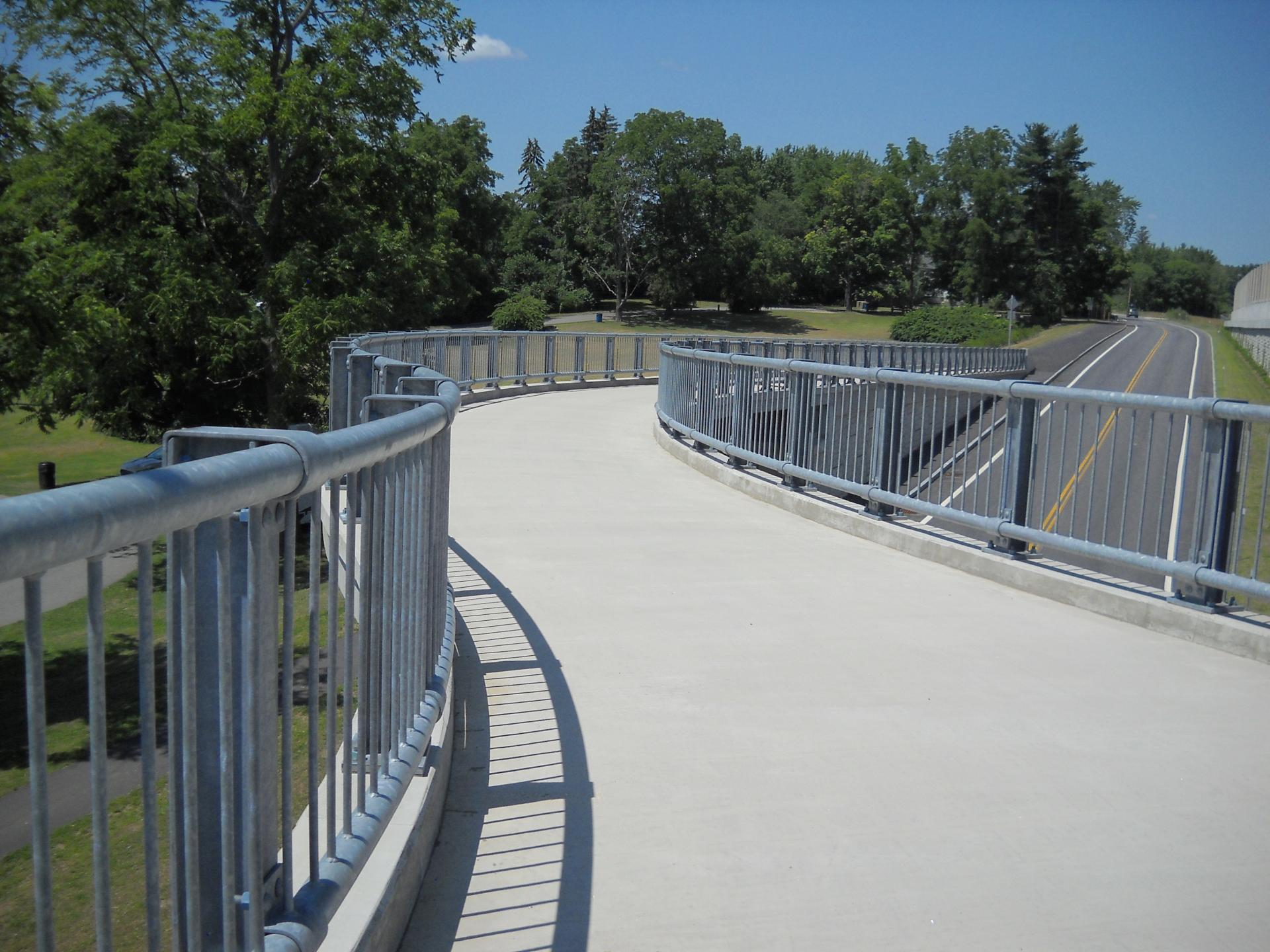 Nhdot General Sullivan Bridge Pedestrian Access Bridge Dover Nh
